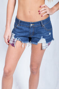 Denim Cut-Offs Shorts