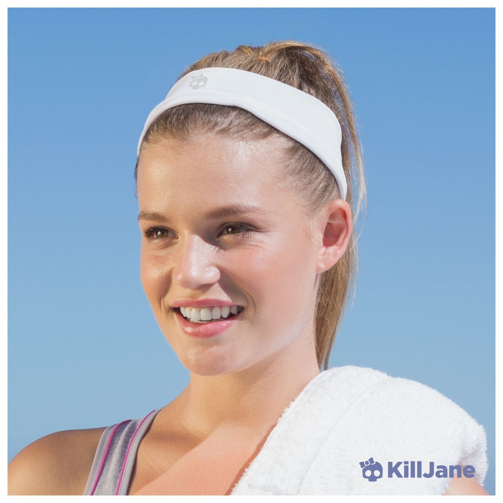 KillJane Womens Workout Headband - Sports Running Exercise Sweatband ... 899d0da1790
