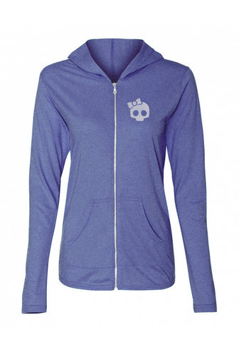 Hoodie - Heather Blue