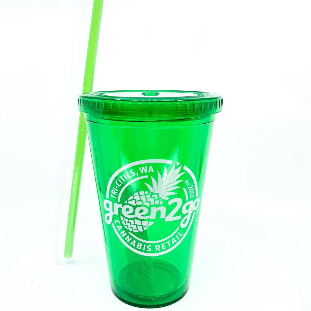 Green2Go Recreational Iced Drink Cup