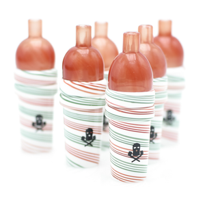 Peppermint Swirl Double Bubble Trap Cup