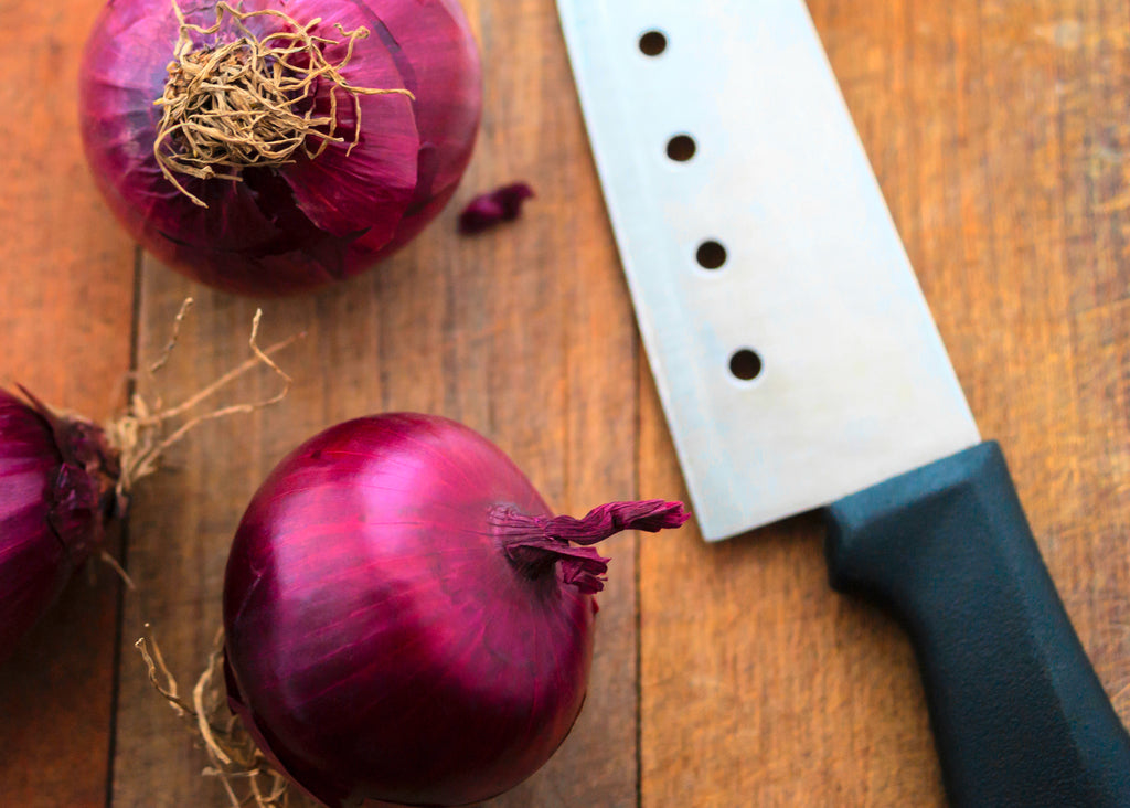 red onions are a great source of quercetin