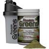 Aceva Absolute Greens Shaker and Bottle