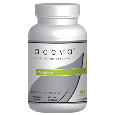 Aceva Melatonin Bottle