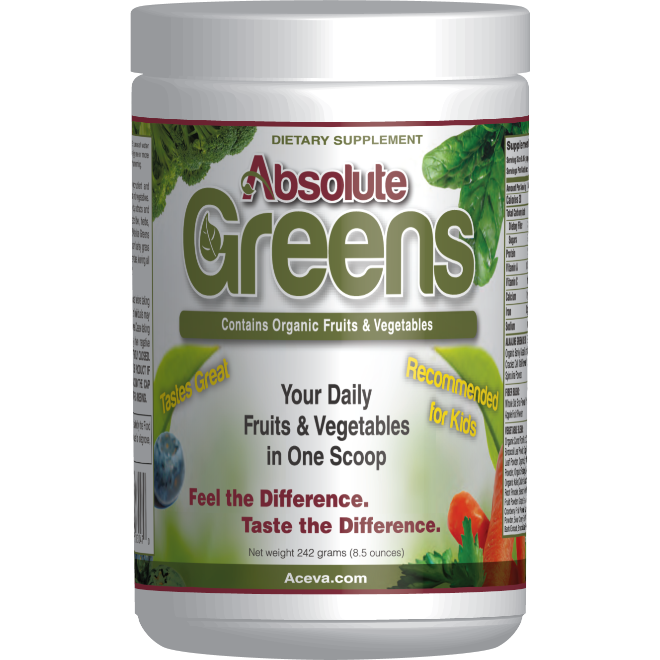 17 green ways for St. Patrick's Day | absolute greens powder supplement | Eat. Drink. Work. Play.