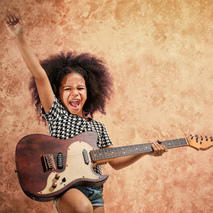 How To Teach Your Kids To Rock (& why it's good for them)