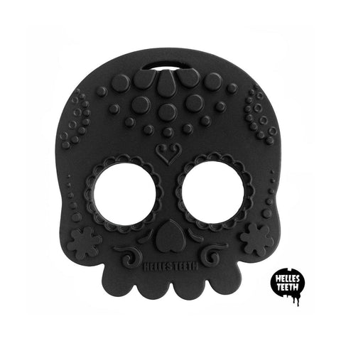 Sugar Skull Teething Toy - Helles Teeth