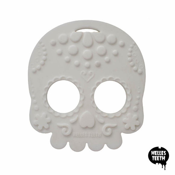 Helles Teeth Sugar Skull Teething Toy