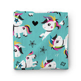Punky Unicorn 100% Bamboo Muslin Swaddle Blanket-Swaddle-Teeny Rockers