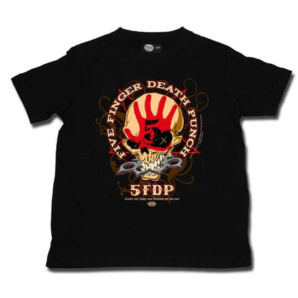 Five Finger Death Punch Knucklehead Kids T-Shirt
