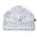 Rock n Roll pattern baby hat cotton lycra