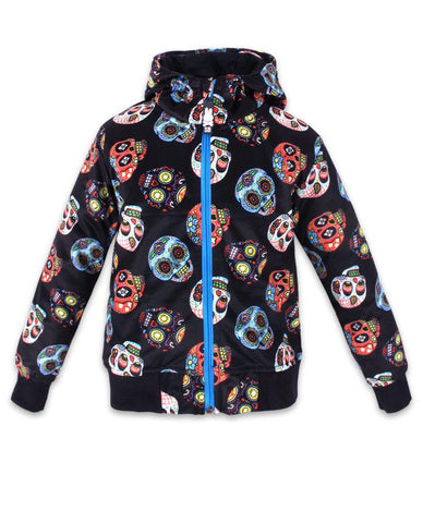 Sugar Skulls Kids Bomber Jacket - Six Bunnies