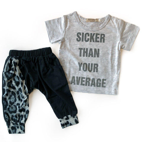 Sicker than your average t-shirt and pants set