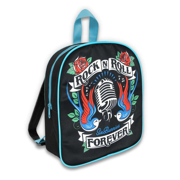 Six Bunnies Rock 'N' Roll Forever Backpack