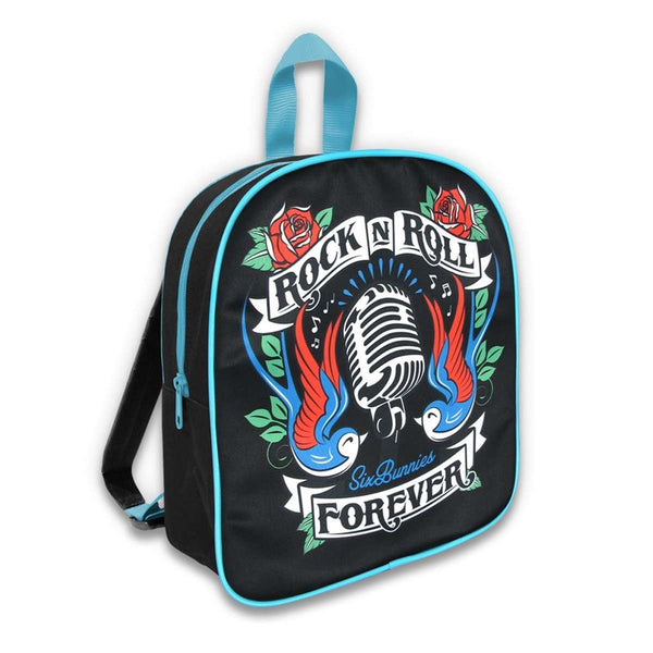 Kids Backpack - Rock n Roll forever - Six Bunnies