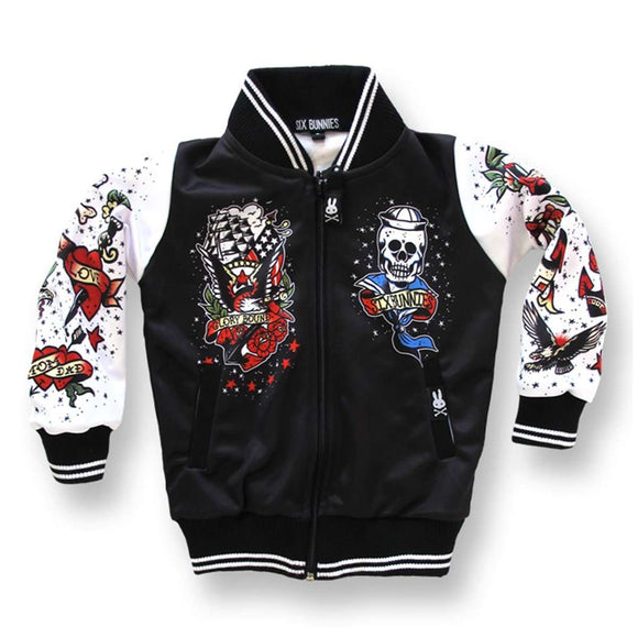 Six Bunnies Tattoo Jacket
