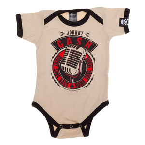 Sourpuss Johnny Cash Daddy Sang Bass Onesie
