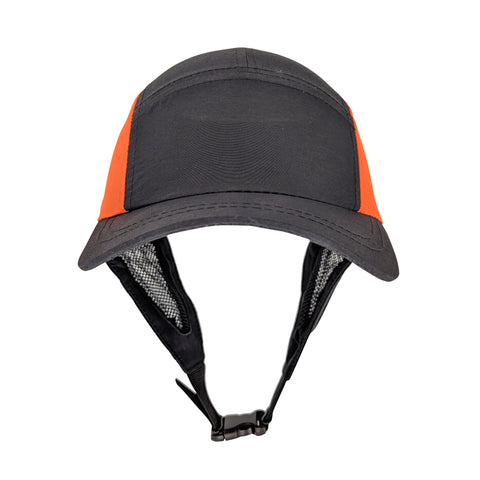 Surf Hat - Black & Orange