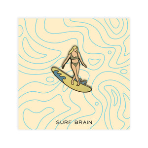 Surfer No.1 Pin