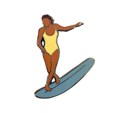 Surfer No.3 Pin
