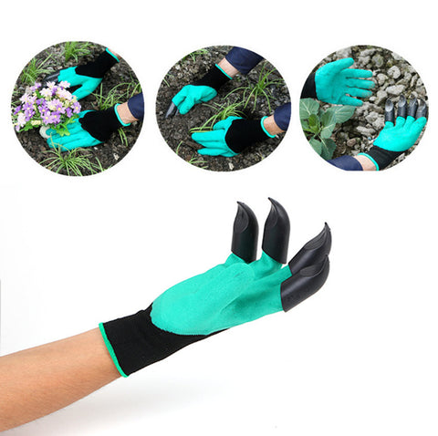 Image of Garden Gloves With Claws