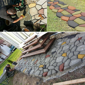 Outdoor DIY Plastic Path Maker Mold