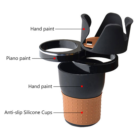 4-in-1 Multi-Function Car Cup Holder
