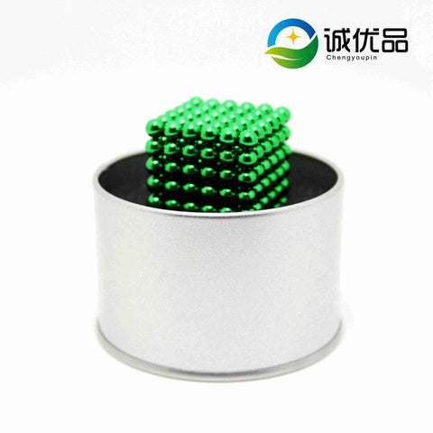 5mm 216pcs Magnetic Balls & Cubes