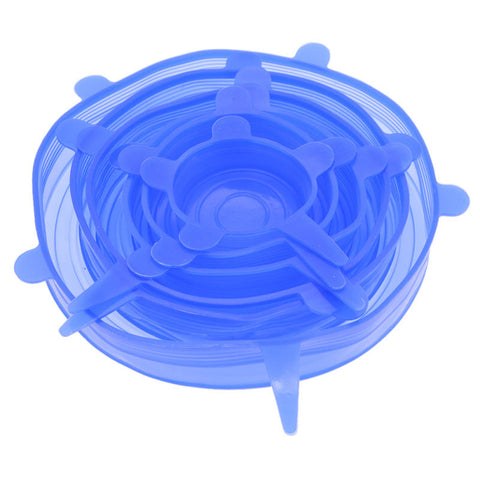 Image of Silicone Insta Lids 6 Pcs
