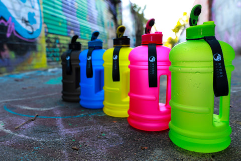 Hydra Bottle Colour Range