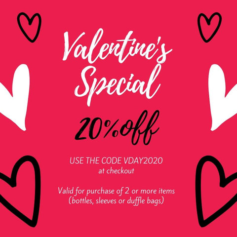 2l bottle valentines day special at Hydra