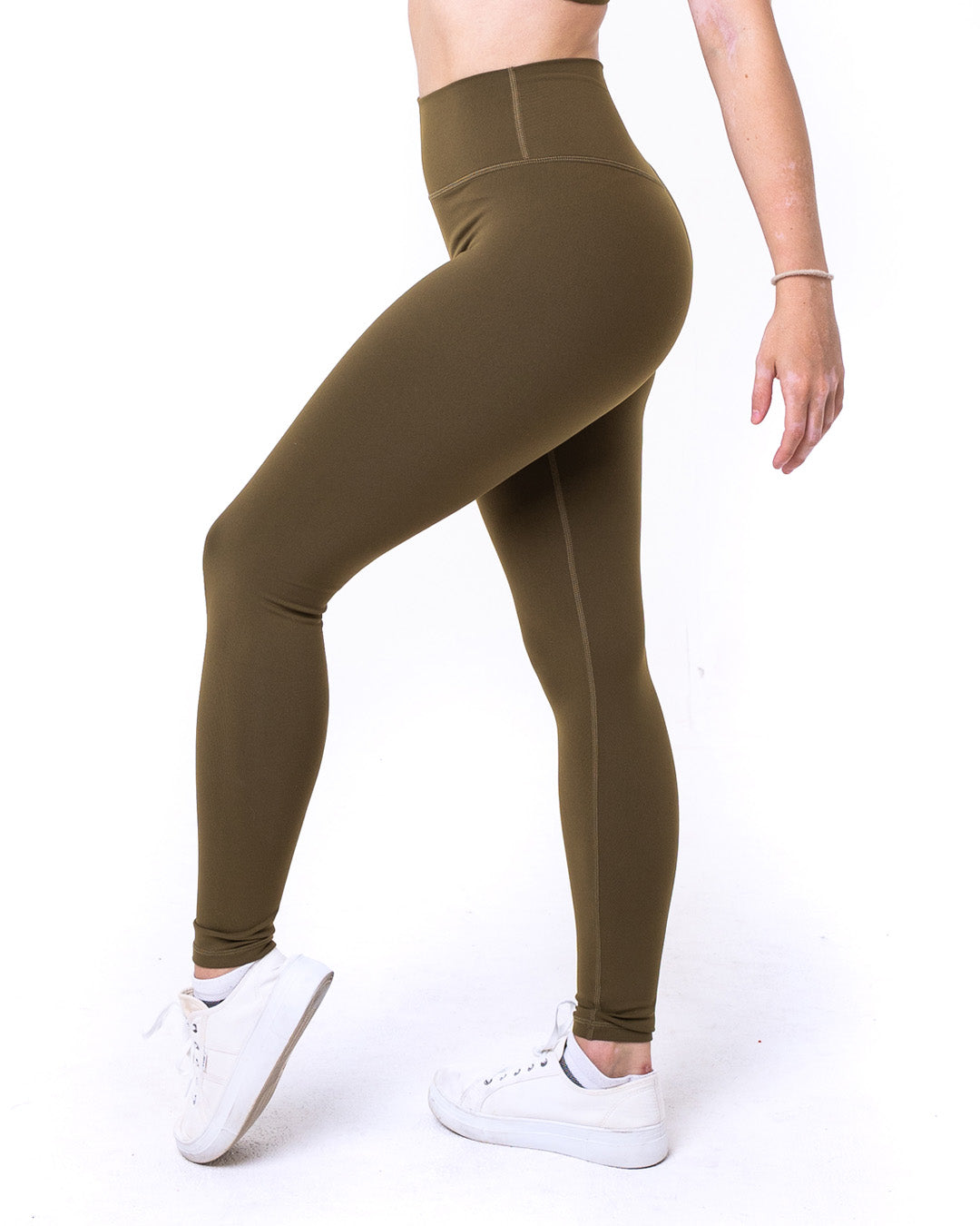 Elevate Leggings - Khaki