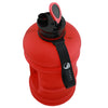 Matte Red 2.2L Big Bottle with open lid