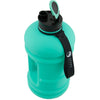 Hydra Bottle Mint 2.2L Big Bottle with open lid