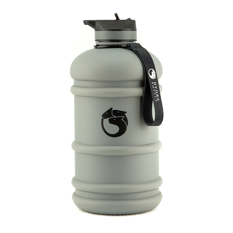 Battle Grey Edition - 2.2L Flip & Sip Bottle | Hydra Bottle
