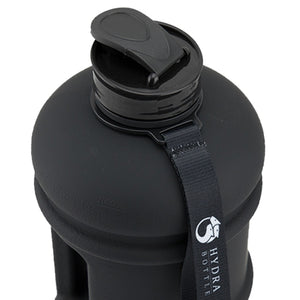 Closed Stealth Black Water Bottle
