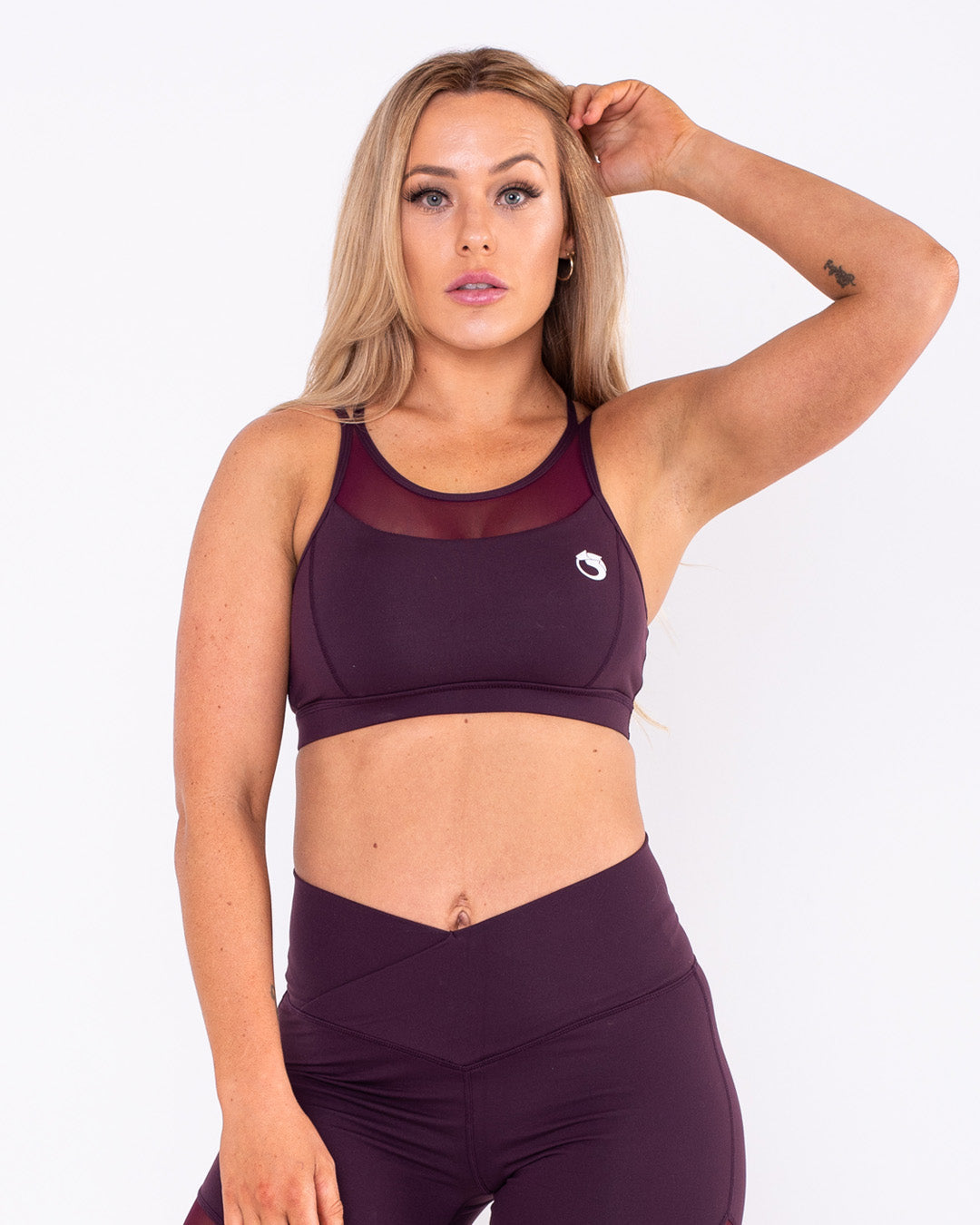 Evolve Bra - Plum