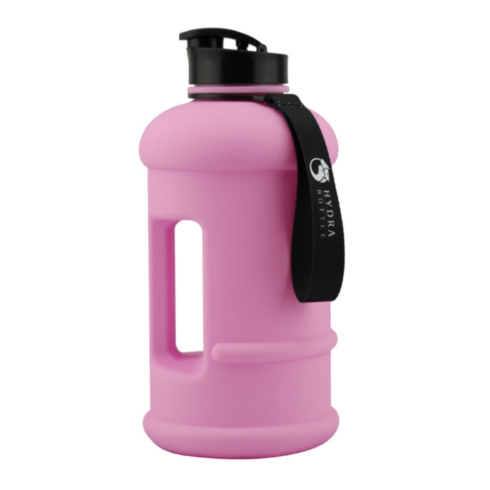 Bright pink 1L water bottle