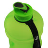 Matte Green 2.2L Big Bottle with closed lid
