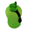 Matte Green 2.2L Big Bottle with open lid