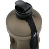 Black 2.2L Big Bottle with a closed lid