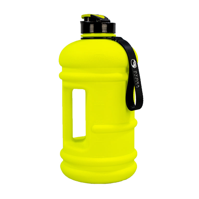 Neon Yellow | 2.2L Big Bottle | The Hydra Bottle