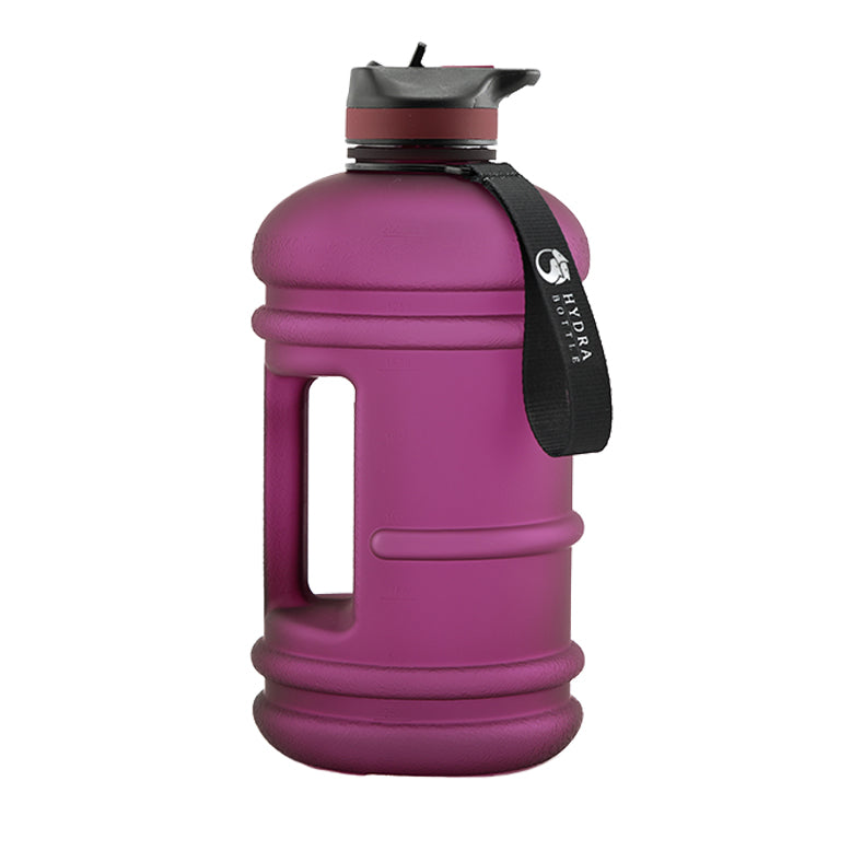 Matte Plum | 2.2L Flip & Sip Bottle | The Hydra Bottle