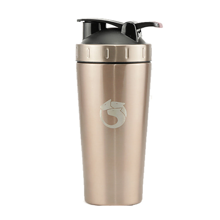Rose Gold Hydra Shaker | 700ml Stainless Steel Shaker | Hydra
