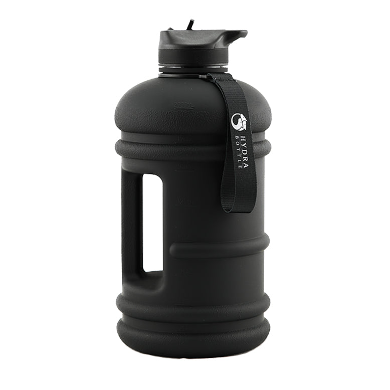 Stealth Black | 2.2L Flip & Sip Bottle | The Hydra Bottle