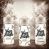 Vape Fresh Salts different Falvors offered by Vape Warehouse