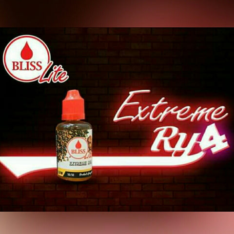 Bliss Lite - Extreme RY4 Ejuice offered by Ejuice.ph Vapewarehouse