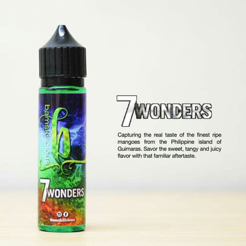 Bamskilicious - 7 Wonders Ejuice offered by Ejuice,ph Vapewarehouse