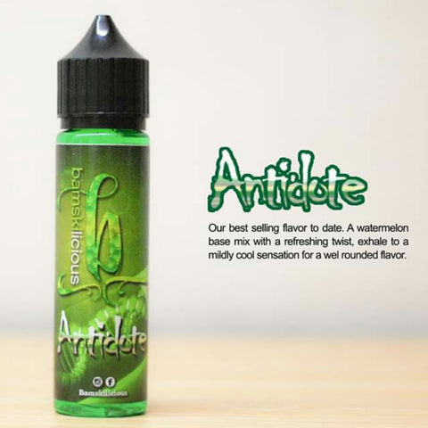 Bamskilicious - Antidote Ejuice offered by Ejuice.ph Vapewarehouse