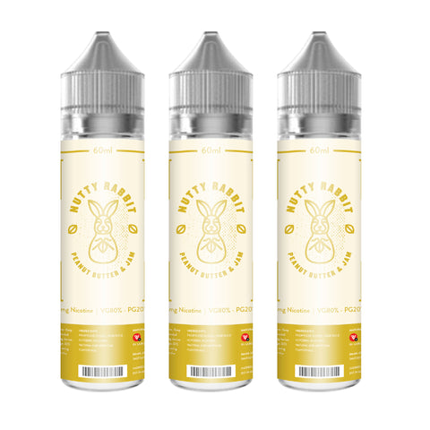 NUTTY RABBIT - Peanut Butter & Jam Ejuice offered by Ejuice.ph Vapewarehouse